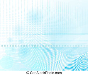 Abstract Light Blue Background - Abstract background with...