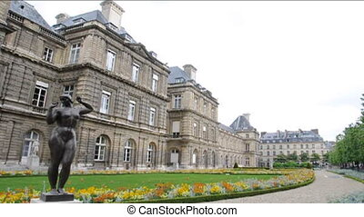 palace Luxembourg Gardens Paris