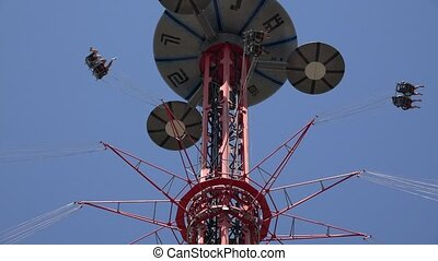 Amusement Park Thrill Rides
