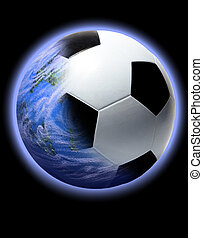 Planet Soccer ball or football