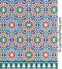 Morocco architecture style - vintage effect style pictures