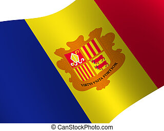Andorra - National Flag. Andorra