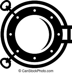 Porthole, shade picture