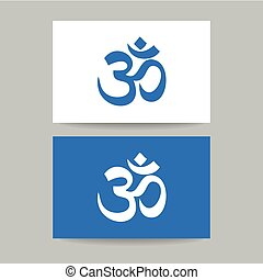 om sign template - Om - hinduism symbol Concept business...