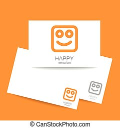 happy emotion template