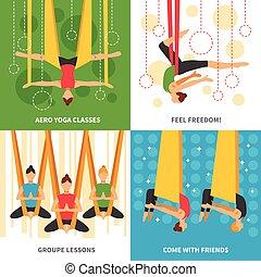 Aero Yoga Design Concept - Aero yoga design concept four...
