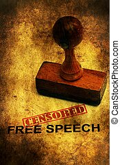 Free speech censored