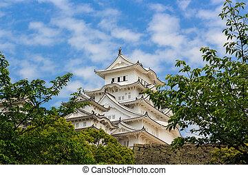 Himeji castle ; World Cultural Heritage - Himeji castle ;...