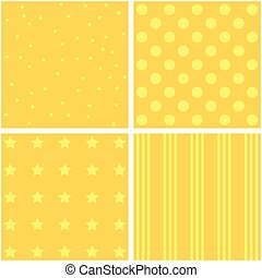 set of four different pattern - vector set of four different...