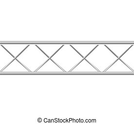 Metal icon. Barrier design. Vector graphic