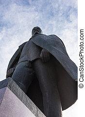 monumento, de, el, Lenin,