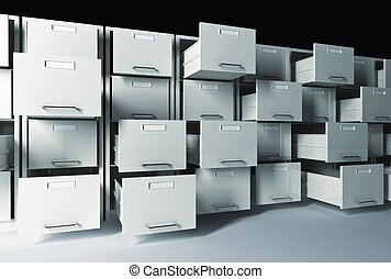 3d file cabinet - 3d classic  file cabinet background