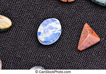 Semi Precious Rock Stone Jewel - Photo Picture of Semi...