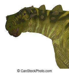 Talarurus Dinosaur Head