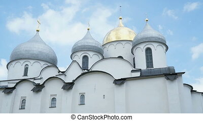 Cathedral of St Sophia, Novgorod - Cathedral of St Sophia in...
