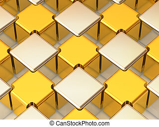 Abstract background. Cubes