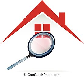 Searching a house logo