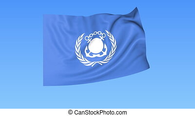 UN International Maritime Organization IMO flapping flag....