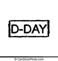 D-DAY Anniversary Illustration design