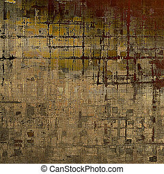 Vintage background in scrap-booking style, faded grunge...