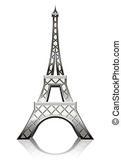 Eiffel tower - Vector illustration of ther Eiffel tower