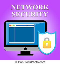 Network Security Represents Global - Network Security...