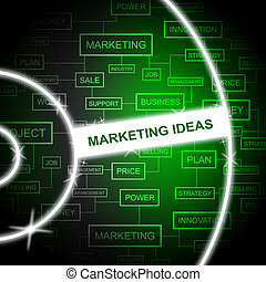 Marketing Ideas Shows Email Lists A