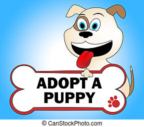 Adopt Puppy Shows Looking After Dog Pets - Adopt Puppy...