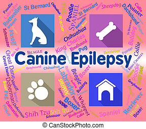 Canine Epilepsy Means Dog And Puppies Fits - Canine Epilepsy...