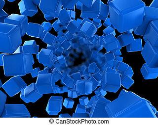 cubes flow