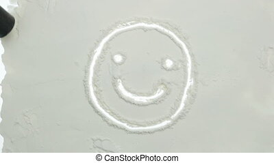 smile powder Icon transition - vacuum cleaner smile Icon...