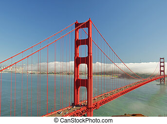 photo golden gate bridge, san francisco, ca, usa - golden...