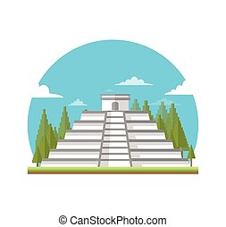 building chichen itza
