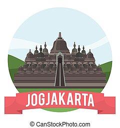 Jogjakarta city banner
