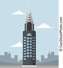chrysler building banner