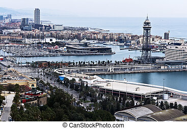 Barcelona, Spain - cityscape - Barcelona, Spain - January...