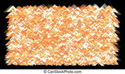 orange fragment paper background