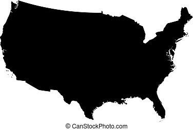 Map - United States, Washington D.C.