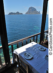 Es Vedra Cala dHort, Ibiza Spain - The islands and turquoise...