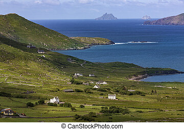 Scenic coastline of the 'Ring of Kerry' - Ireland - The...