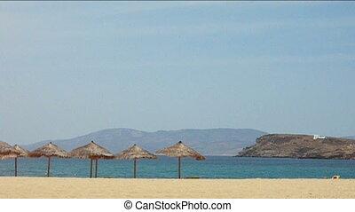 greek island beach ios cyclades