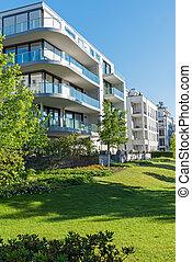 Luxury apartment houses