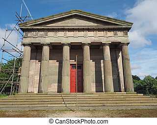 The Oratory in Liverpool - The Oratory of St James Cemetery...