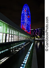Torre Agbar of Jean Nouver architect on Technological...