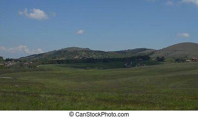 Panning Over Landscape - Pan camera movement over landscape...