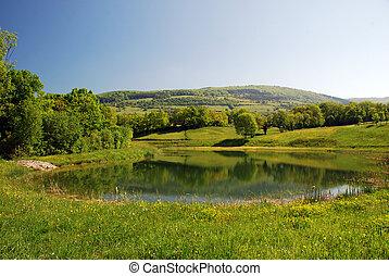 Limousin region landscape