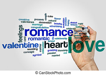 Love word cloud - Love concept word cloud background