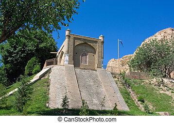 The Mausoleum of Prophet Daniel ( Khodja Doniyor) located in...