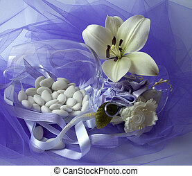 wedding 7 - material to make favors for weddings, communions...