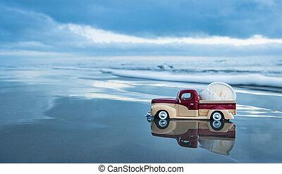 Beach Shell Truck